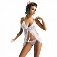 Compleu Lenjerie Intima, Obsesive Collection, Model White and Pure