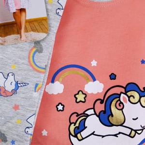 Compleu pentru Mamici si Gravide Vienetta, 'Unicorn was Born' Pink