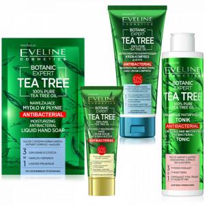 Pachet Ingrijire Personala si Antibacteriana Botanic Expert Tea Tree Eveline Cosmetics