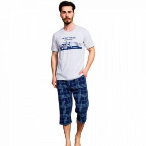 Pijama Barbati Gazzaz by Vienetta, 'Truck Association'