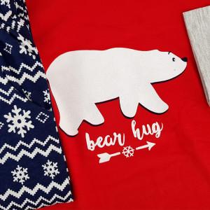 Pijamale Dama cu Ornamente de Iarna Vienetta Model 'Bear Hug'