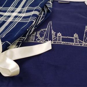 Pijamale Dama din Bumbac 100% Vienetta Model 'New Perspective'