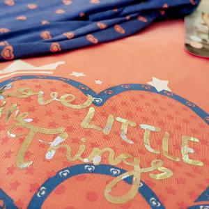 Pijamale Dama din Bumbac, Vienetta, Model Little Things Pink