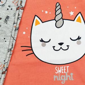 Pijamale Dama din Bumbac Vienetta Model 'Sweet Night'