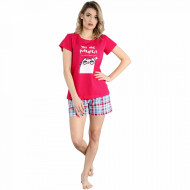 Pijamale Dama Muzzy Bumbac 100% 'You Are Perfect'