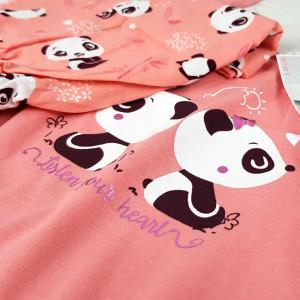 Pijamale Dama Vienetta, Bumbac 100%, 'Listen Your Hear'