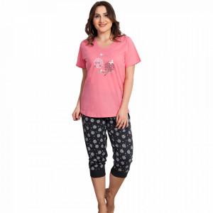 Pijamale Dama Vienetta Marimi Mari, Model Bloom are Planted