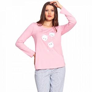 Pijamale Dama Vienetta Model 'Amici di Pello' Pink