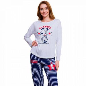 Pijamale Dama Vienetta Model 'Classic Happiness'