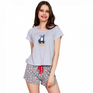 Pijamale Dama Vienetta 'WeekEND' Gray