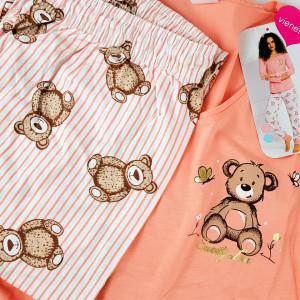 Pijamale Dama Vienetta, 'Sweety Love' Pink