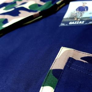 Pijamale Gazzaz by Vienetta, Bumbac 100%, 'Camouflage'