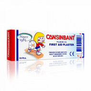 Plasturi Universali Rezistenti la Apa, Cansinbant, Cutie 10 Bucati