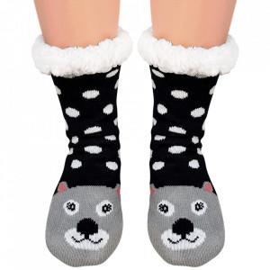 Ciorapi Imblaniti Lady-Line, 'Teddy Bear'