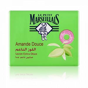Sapun Solid Hidratant Le Petit Marseillais cu Parfum de Migdale 90 Gr.