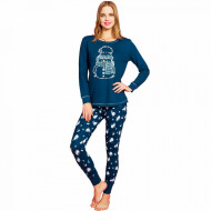 Pijamale Dama Vienetta Dream, 'Happiness & Snowman'