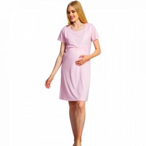 Camasa pentru Gravide si Alaptat Vienetta, 'Materna' Pink