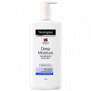 Lotiunea de Corp Hipoalergenica cu Hidratare Profunda Neutrogena Norwegian Formula® Deep Moisture 400 ml