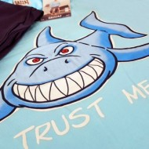 Pijama Barbati Gazzaz by Vienetta, 'Trust Me' Blue