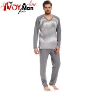 Pijama Barbati Maneca/Pantalon Lung, 'Style', DN-Nightwear