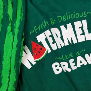 Pijamale Barbati din Bumbac 100% Gazzaz by Vienetta Model 'Watermelon Break'