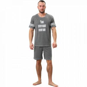 Pijamale Barbati M-Max, Bumbac 100%, 'King EvryNight EveryDay'