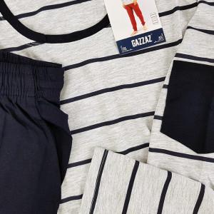Pijamale Confortabile pentru Barbati Gazzaz by Vienetta Model 'Osaka'