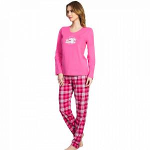 Pijamale Dama Vienetta, Model 'Girl Power' Pink