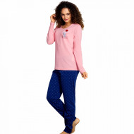 Pijamale Dama Vienetta, Model 'Happy Nights'