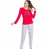 Pijamale Dama Vienetta Model 'Life is a Beautiful Ride'