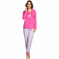 Pijamale Dama Vienetta, 'my Star' Pink