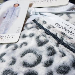 Salopeta Dama Pufoasa Vienetta Soft & Pure, Model 'Leona'