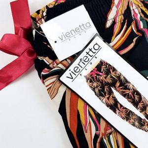 Pantalon Lung din Bumbac Pijama Dama Vienetta Model 'Nature'
