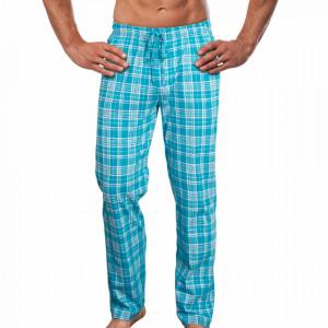 Pantaloni Pijama Barbati Gazzaz by Vienetta 'Urban' Blue