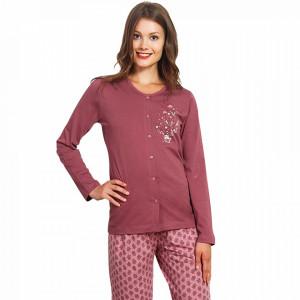 Pijama cu Nasturi Dama, Vienetta, 'Stay Nice'