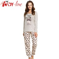 Pijama Dama Maneca/Pantalon Lung, 'It's Not me - I'ts You', Vienetta
