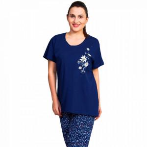 Pijama Dama Vienetta, Bumbac 100%, Model Love Yourself Honey