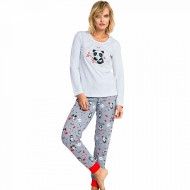 Pijama Dama Vienetta Model 'My Love' Gray