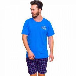 Pijamale Barbati din Bumbac 100% Gazzaz by Vienetta Model 'Legend 1977 Premium Product'