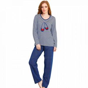 Pijamale Dama Bumbac 100% Vienetta Model 'Marina Style'