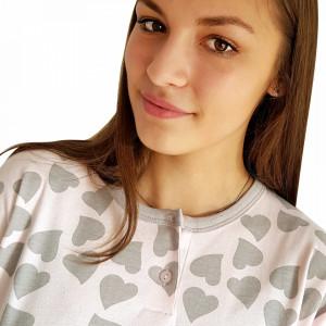 Pijamale Dama Maneca Lunga Milk and Honey, Model Joy Of Love