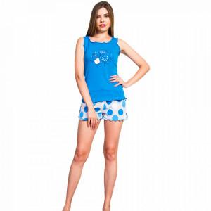 Pijamale Dama Vienetta, 'BedTime Besties' Blue