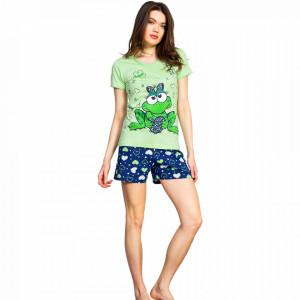 Pijamale Dama Vienetta Bumbac 100%, 'Kiss Me'