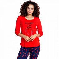 Pijamale Dama Vienetta Dream, 'Too Hot for You'