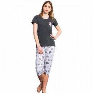 Pijamale Dama Vienetta Lulu, Model 'Princess Cat'