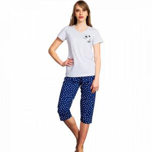 Pijamale Vienetta Dama, 'Good Morning Honey'' Blue