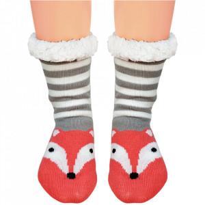 Ciorapi Imblaniti Lady-Line, 'Foxy Moxy'