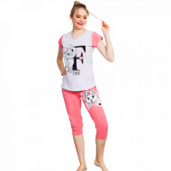 Pijama Dama Vienetta Kittens 'Fashion Love'