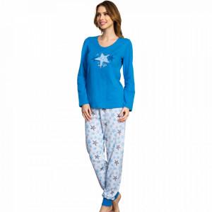 Pijamale Dama Vienetta, 'my Star' Blue