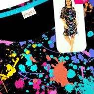 Camasa de Noapte din Bumbac Marimi Mari Vienettai, Model 'Emotions'
